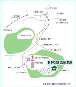 活動場所マップ