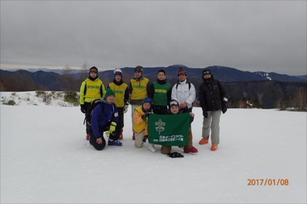 ボーイ&カブ隊スキーキャンプその3