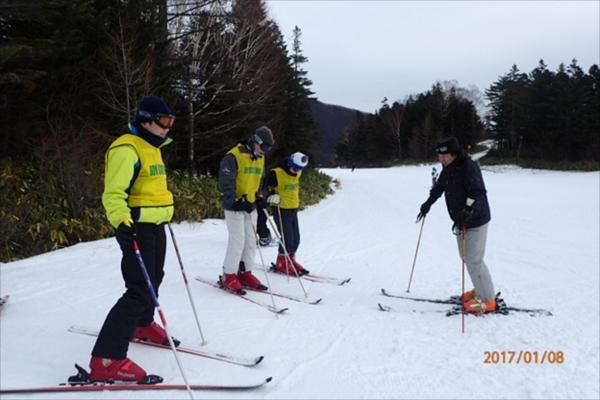 ボーイ&カブ隊スキーキャンプその2