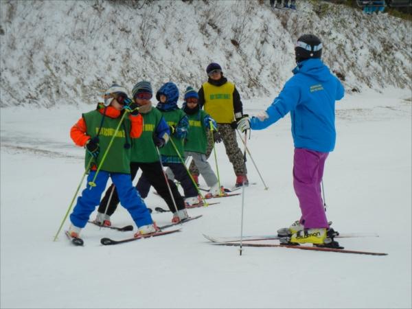 ボーイ&カブ隊スキーキャンプその1