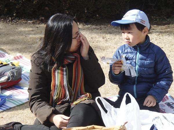 目白の東京カテドラル関口教会で合同BP祭&科学技術館見学