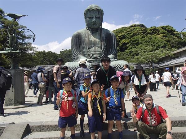 鎌倉へのハイキング