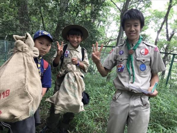 ボーイ隊夏キャンプ