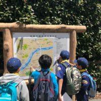 高幡山での追跡ハイク