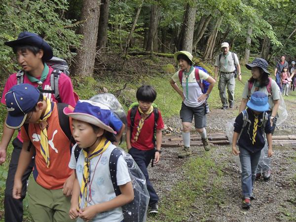 カブ隊夏キャンプ2018