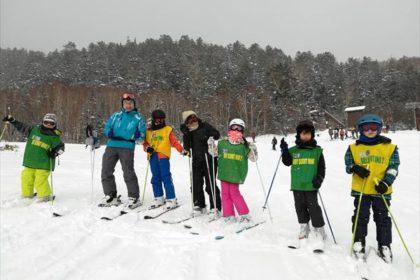 2019年カブ隊冬季スケートキャンプその1