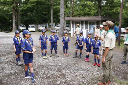 山中湖キャンプ4日目