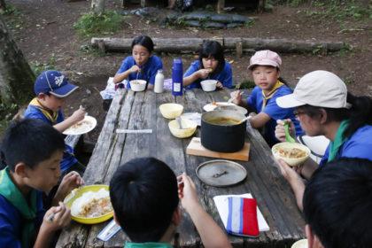 山中湖キャンプ3日目その3