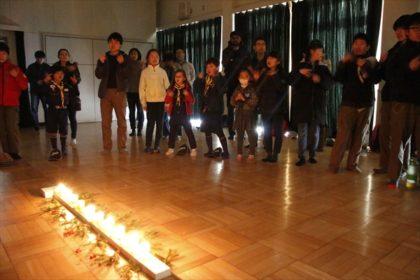 ガールスカウト、ボーイスカウト合同クリスマス会3